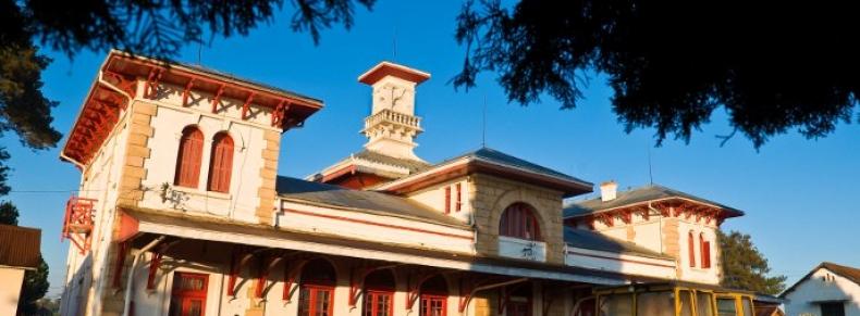 La gare d'Antsirabe, un exemple d'architecture coloniale