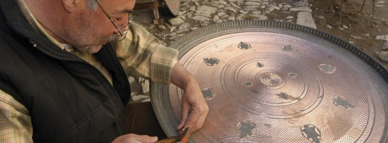 Turkish craftman