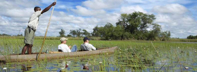 Safari sur le Delta  de l'Okavango