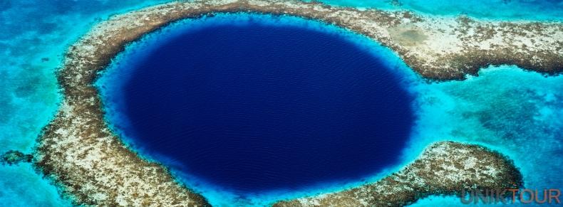 Grand Trou Bleu, Ambergris Caye