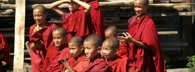Jeunes moines