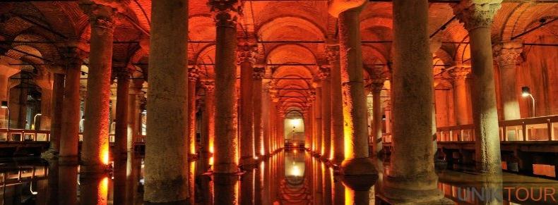 Citerne basilique d'Istanbul