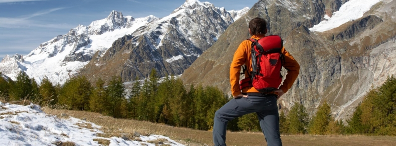 Alpes - Mont Blanc - Courmayeur