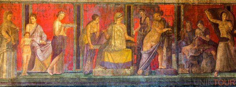 Fresque de Pompéi