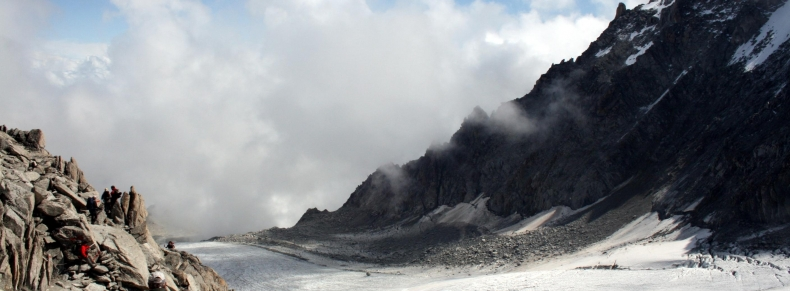 Alpes - Vallée des glaciers