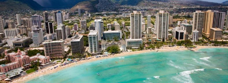 Honolulu, plage de Waikiki