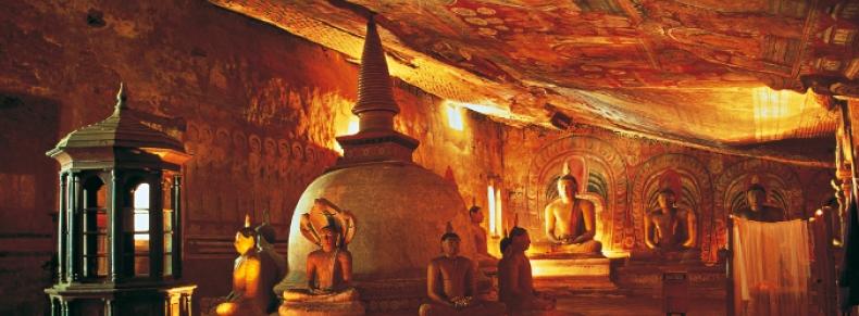 Temple d'Or, Dambulla