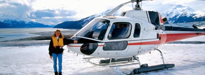 Glacier Franz Josef en hélicoptère