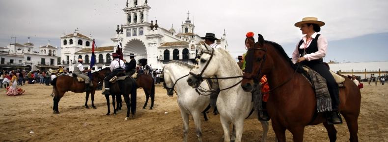 Pélerinage à El Rocio, Andalousie