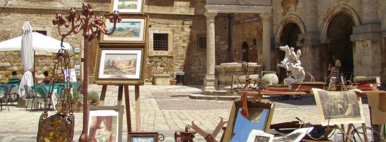 Antiquités à Orvieto