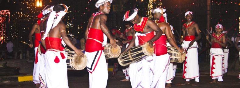 Festival folklorique à Kandy