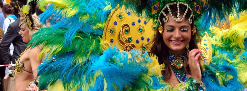 Carioca pendant le Carnaval de Rio