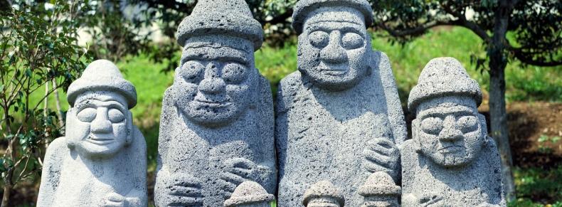 Statues sacrées de Dolharubang