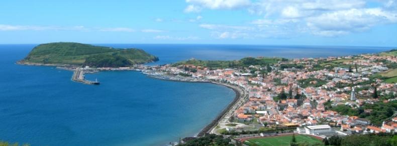 Le port de Horta, île Faial
