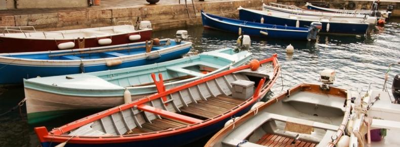 Bateaux sur le lac de Garde