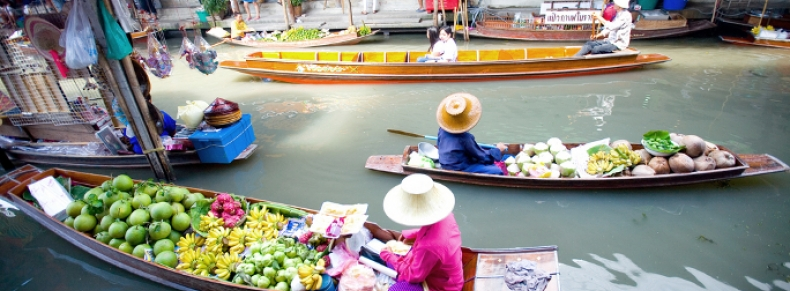 Klongs à Thonburi