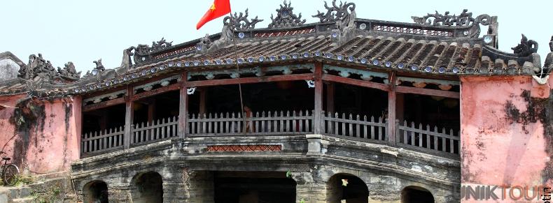 Pont japonais à Hoi An