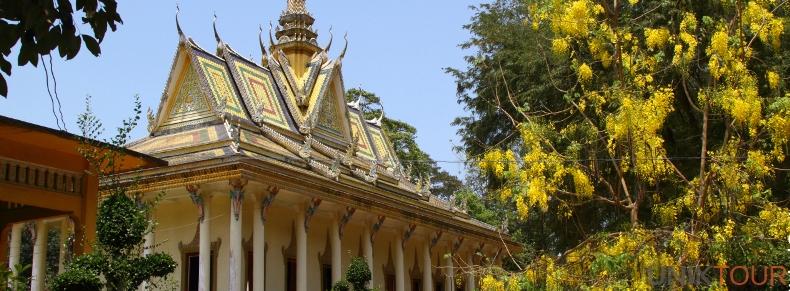 Pagode khmère à Tra Vinh