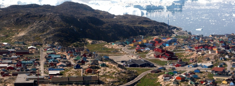 Arctique - City in Greenland