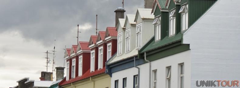 Toits de Reykjavik