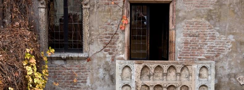 Balcon de Juliette à Vérone