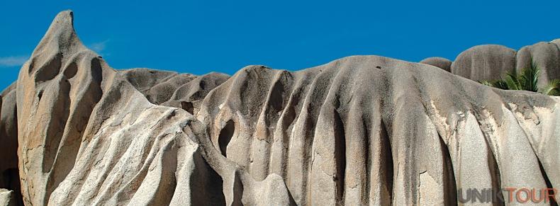 Rochers de granit typiques