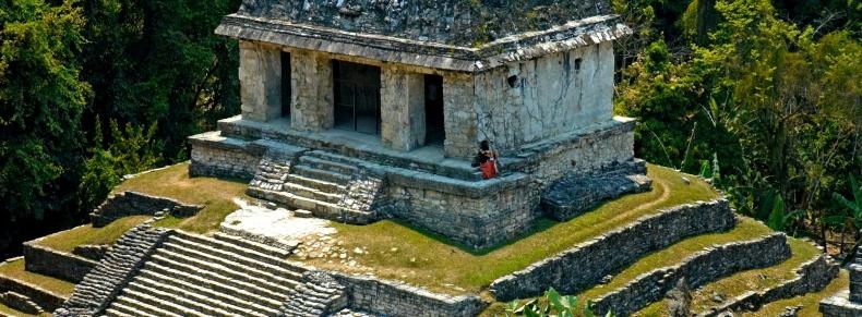 Temple du Soleil, Palenque