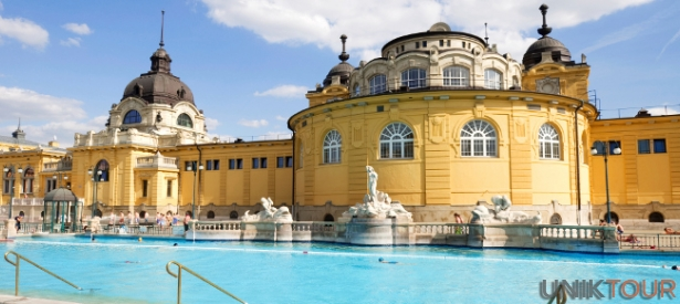 Bains à Budapest
