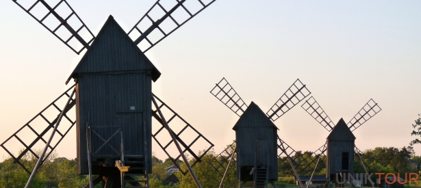 Oland Island windmills