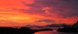 Coucher de soleil aux ïles Lofoten