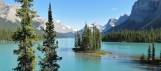 Lac Maligne, Rocheuses Canadiennes